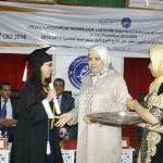 Cérémonie remise des diplômes 2015/2016