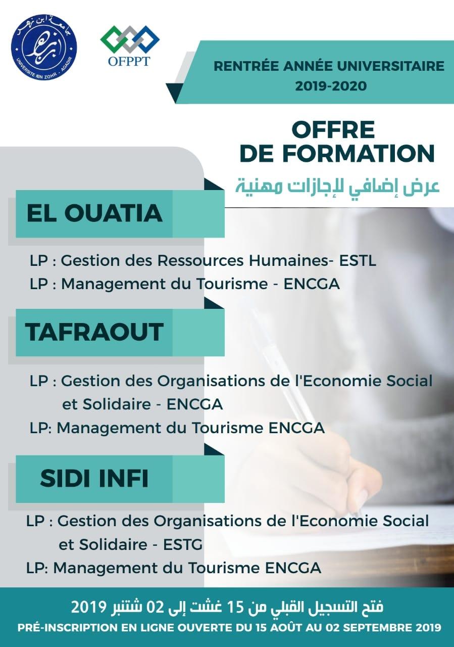 OFFRE DE FORMATION