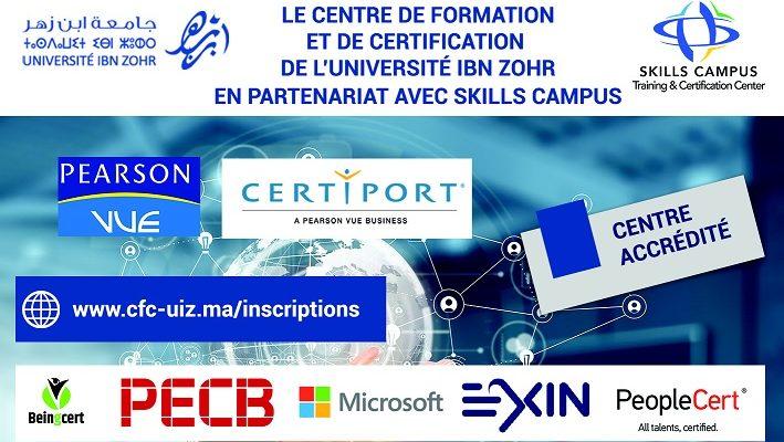 Centre de formations et de certifications de l'Université Ibn Zohr
